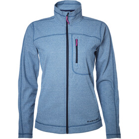 North Bend Aspect Fleece Jacket Women blue bay
